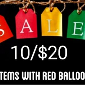 10/$20 Items with a 🎈